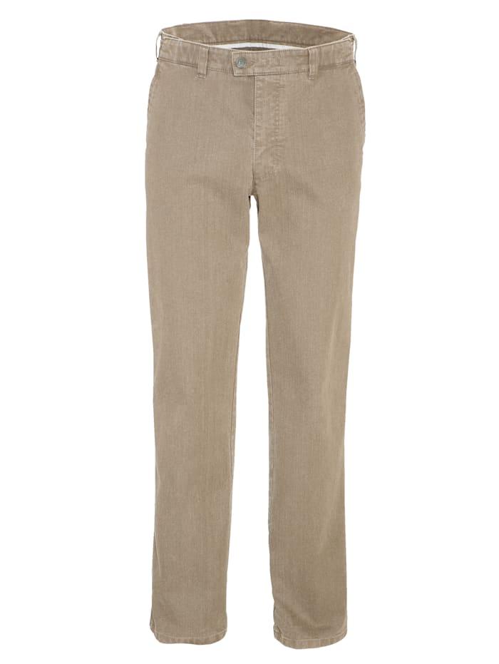 BABISTA Pantalon 7 cm de largeur supplémentaire à la taille, Beige
