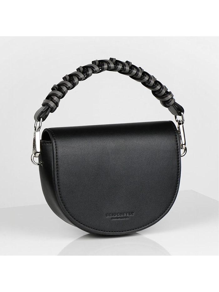 Seidenfelt Hjo Mini Bag Umhängetasche 17 cm, black