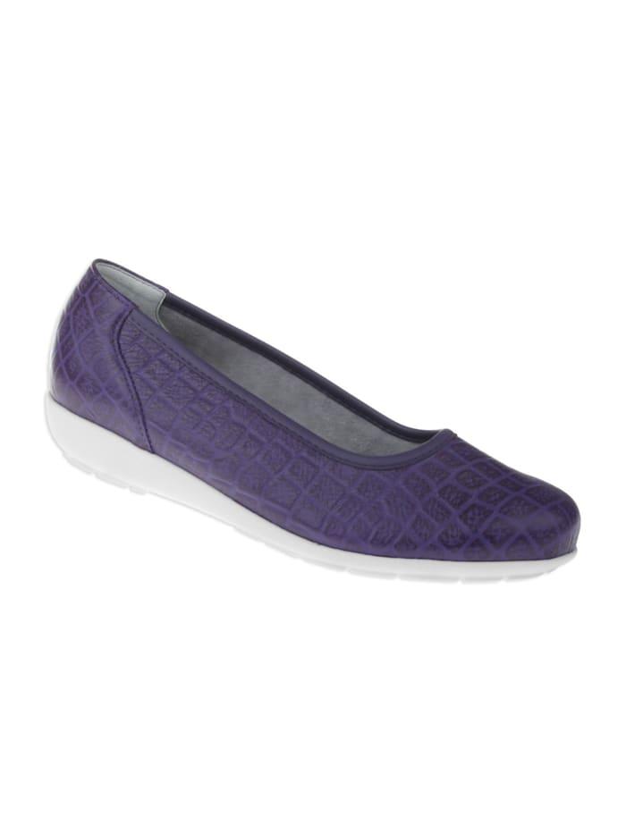 Natural feet Ballerina Catharina, Violett