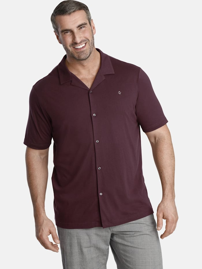 Charles Colby Charles Colby Poloshirt EARL THORLEY, dunkelrot