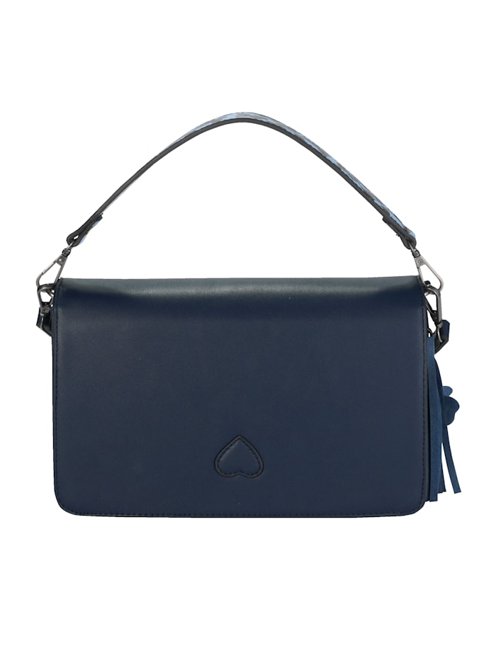 Handväska med avtagbart fjärilshänge