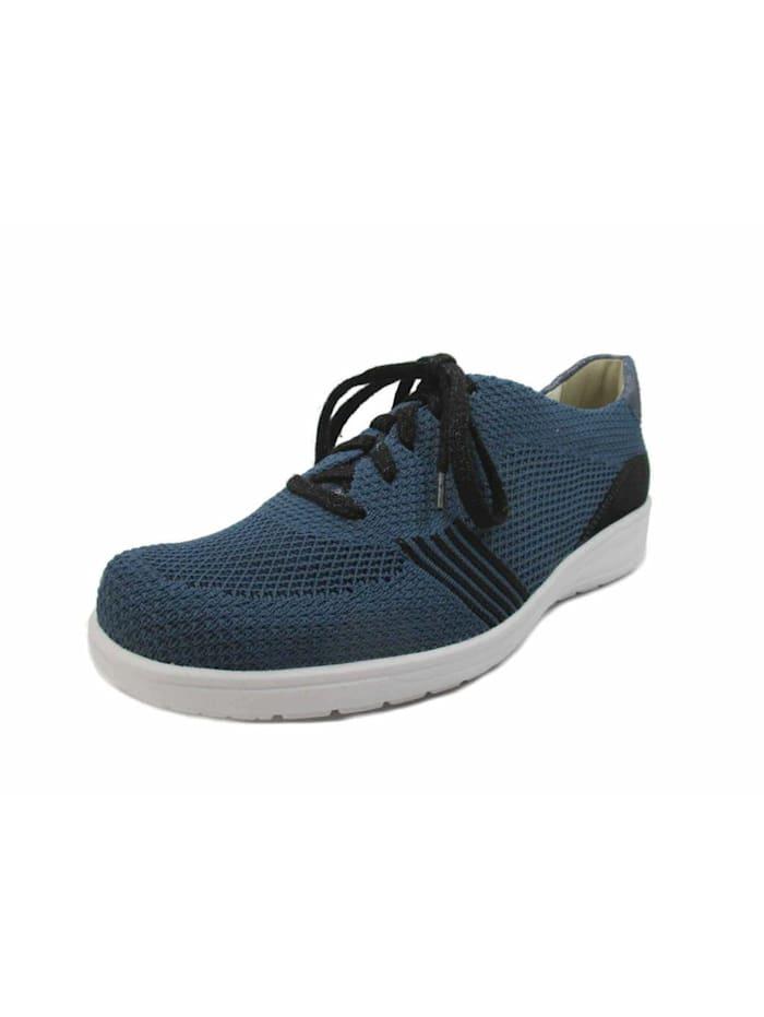 Solidus Damen Schnürschuh in blau, blau