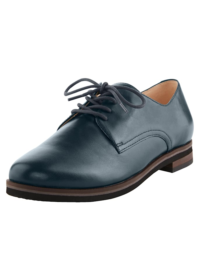 MONA Lace-up shoes in a classic design, Dark Blue