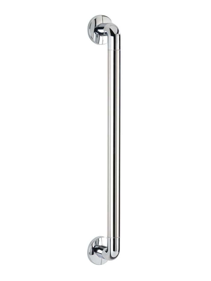 Wenko Wandhaltegriff Secura Chrom 64,5 cm, Chrom, Chrom