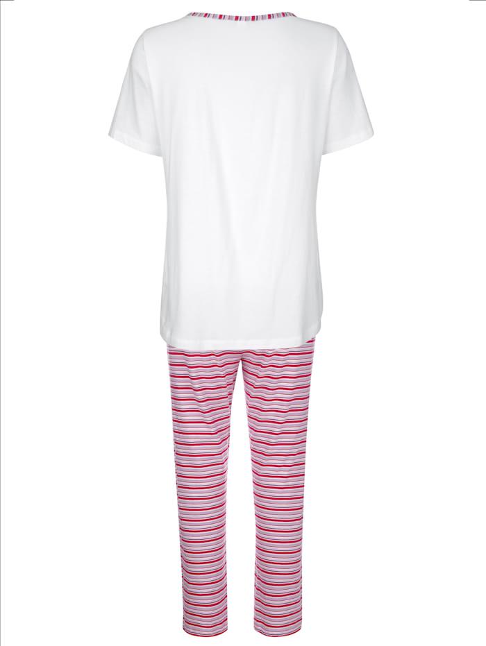 Schlafanzug im zeitlosen Ringeldessin