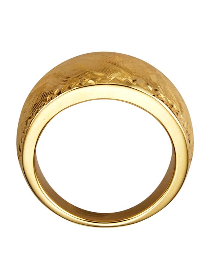 Bague en or jaune 750
