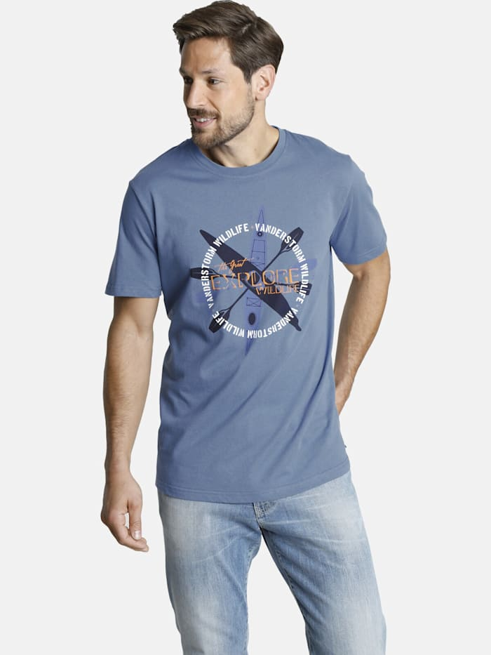 Jan Vanderstorm Jan Vanderstorm T-Shirt KIRJANN, blau