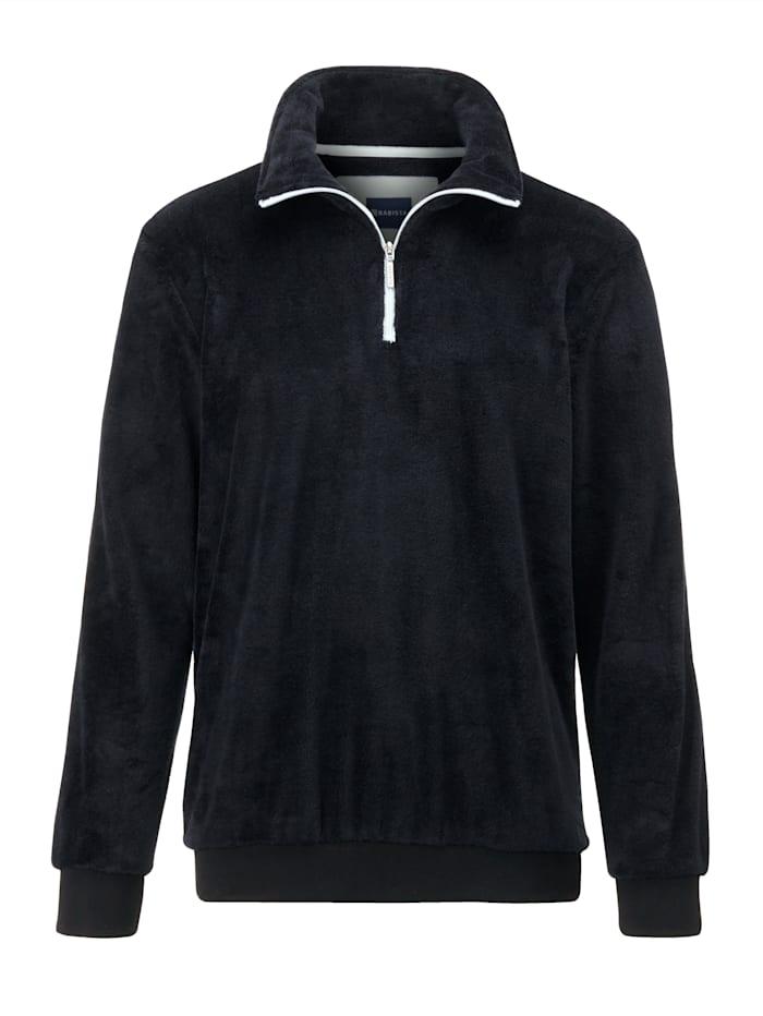 BABISTA Fleece trui met superzachte touch, Zwart