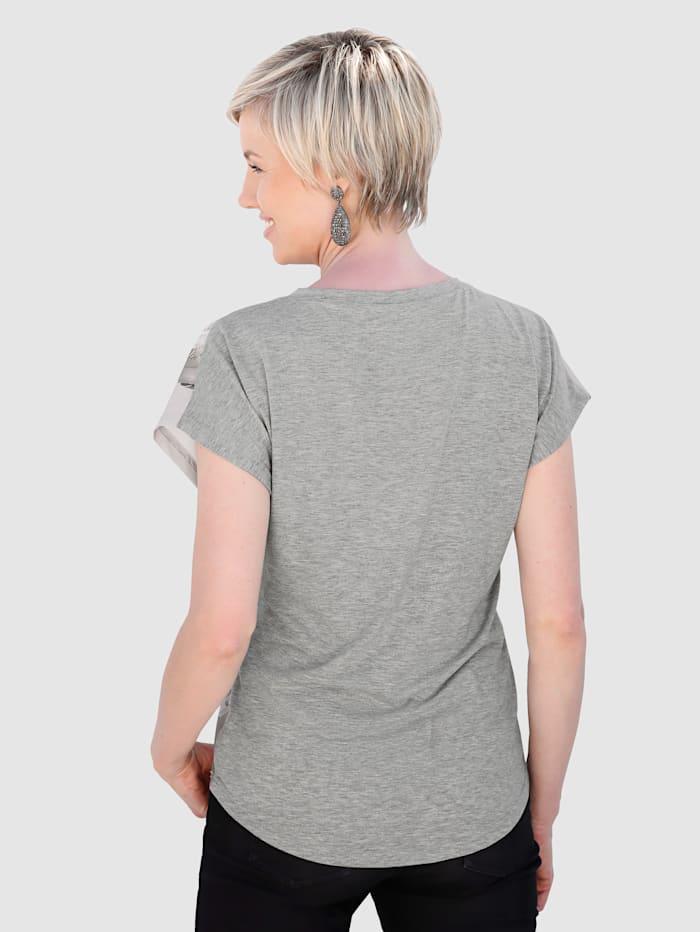 Shirt mit schönem Druckdessin