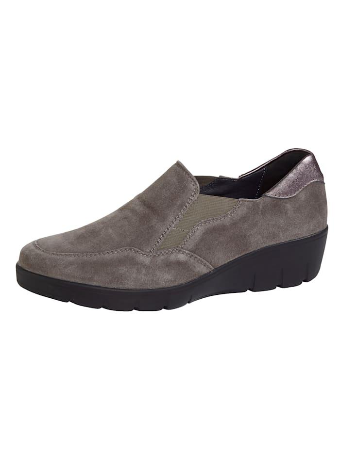 Semler Slip-On Shoes, Taupe