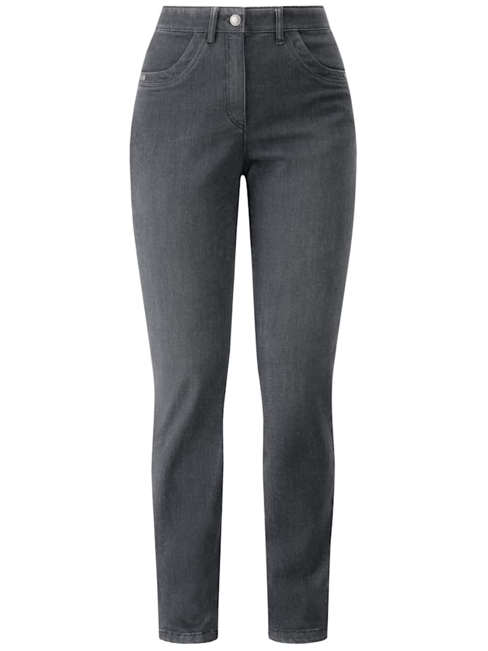 RECOVER Pants Coolmax-Jeans mit Komfortbund, anthrazit