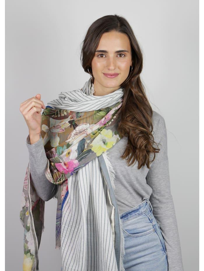 Premium Schal aus Baumwolle und Modal