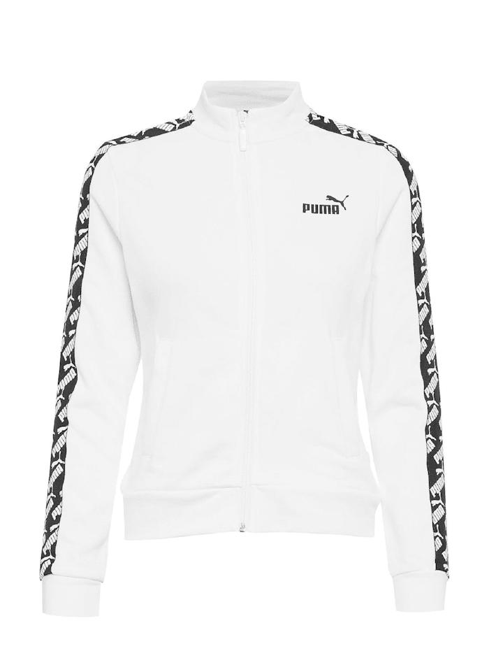 Puma Puma Sweatjacke AMPLIFIED TRACK, Weiß