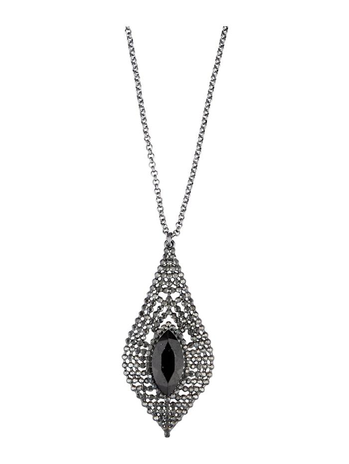 Halskette, Schwarz