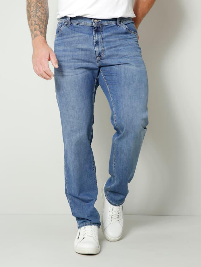 Pioneer Jeans met stretch, Lichtblauw