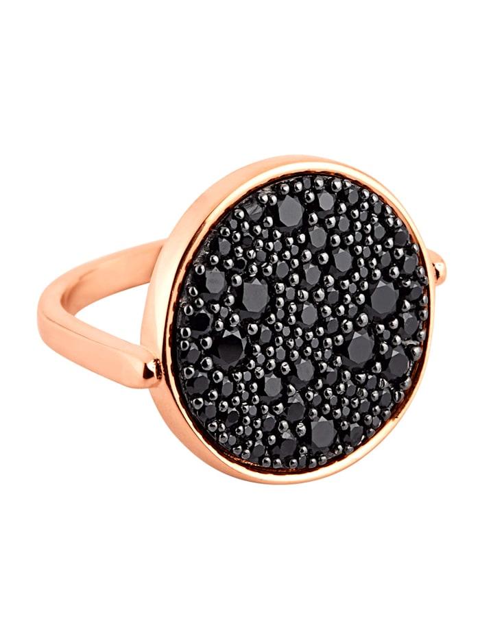 Bronzallure Ring, Roségoldfarben