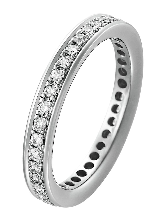 CHRIST C-Collection CHRIST Damen-Damenring Diamant, weißgold