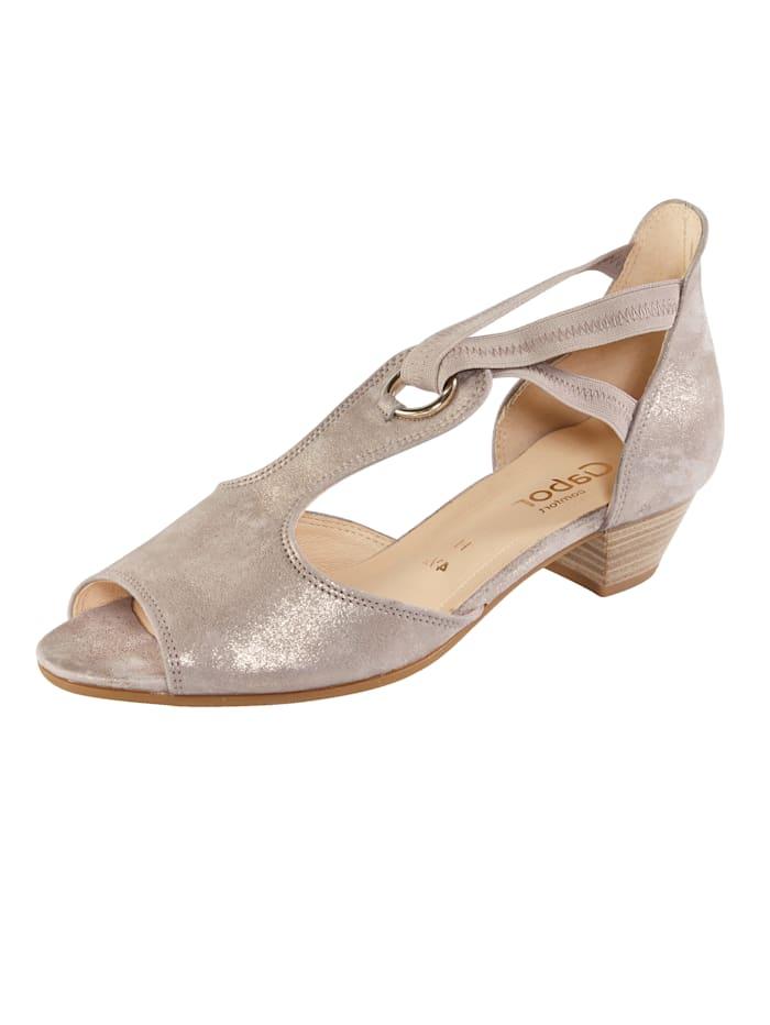 Gabor Sandals, Taupe