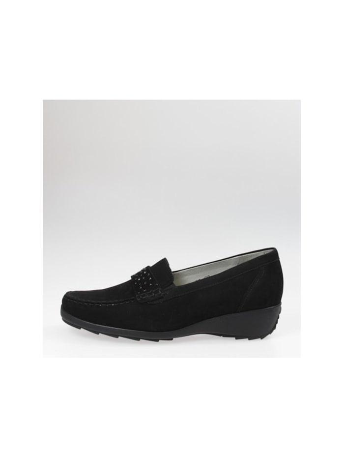 Damen Slipper in schwarz