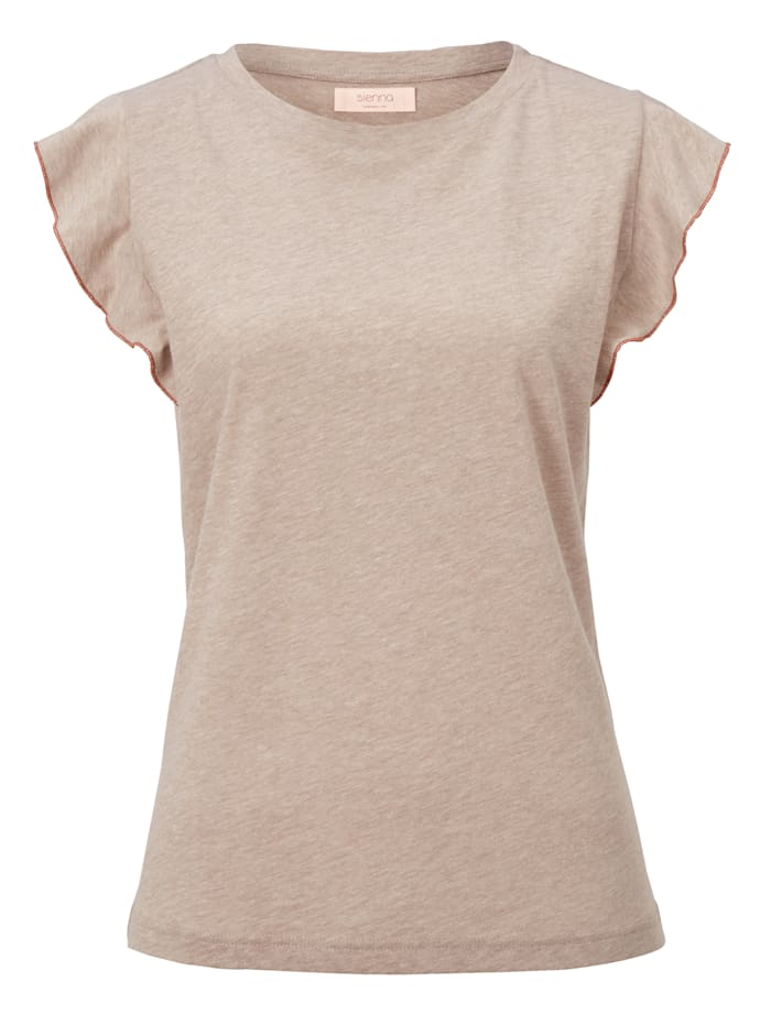 SIENNA T-Shirt, Beige