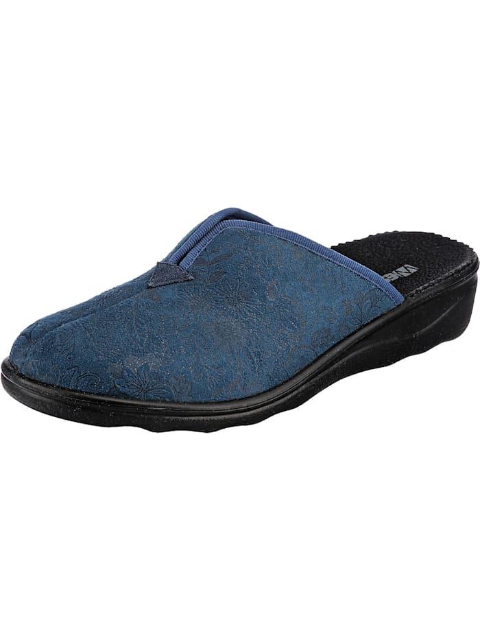 Westland Nice 82 Komfort-Pantoletten, blau