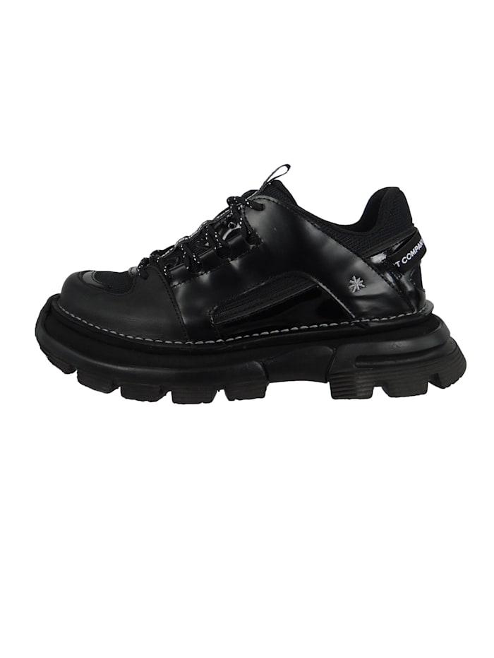Damen Leder Sneaker CORE1 Black Schwarz 1650