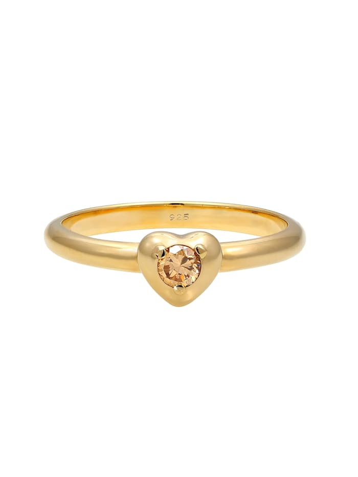 Ring Herz Symbol Verlobung Valentin Zirkonia 925 Silber