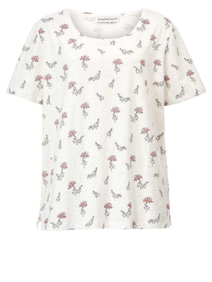 Shirt aus reiner Baumwolle