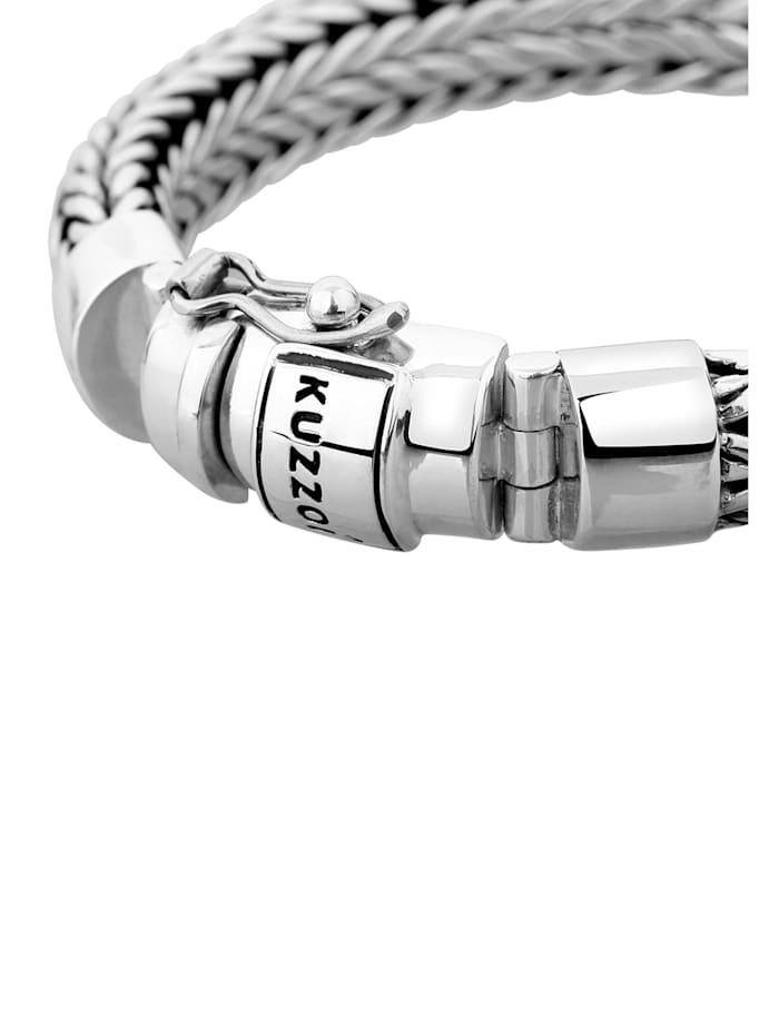 Armband Herren Kastenverschluss Cool Basic 925 Silber