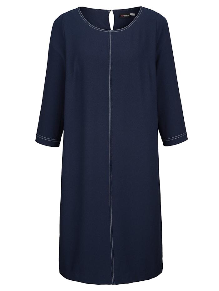 Kleid aus edler Crepe-Ware