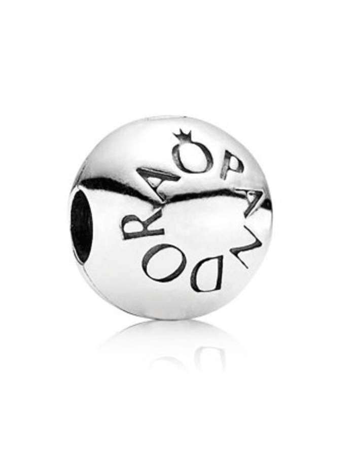 Pandora Clip-Charm 791015, Silberfarben