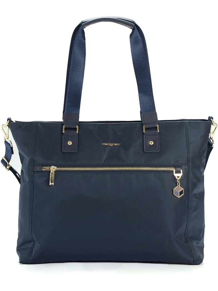 Hedgren Charm Business Zirconia Schultertasche 44 cm Laptopfach, mood indigo