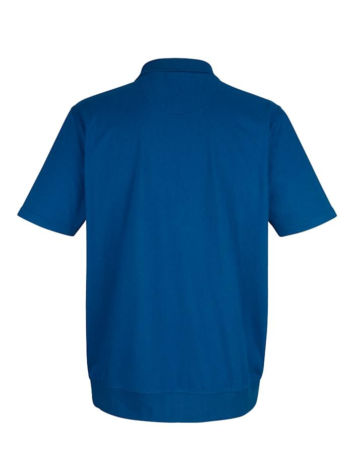 Džersej košeľa so zapínaním na zips