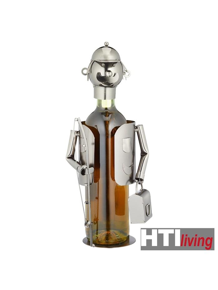 Weinflaschenhalter Angler