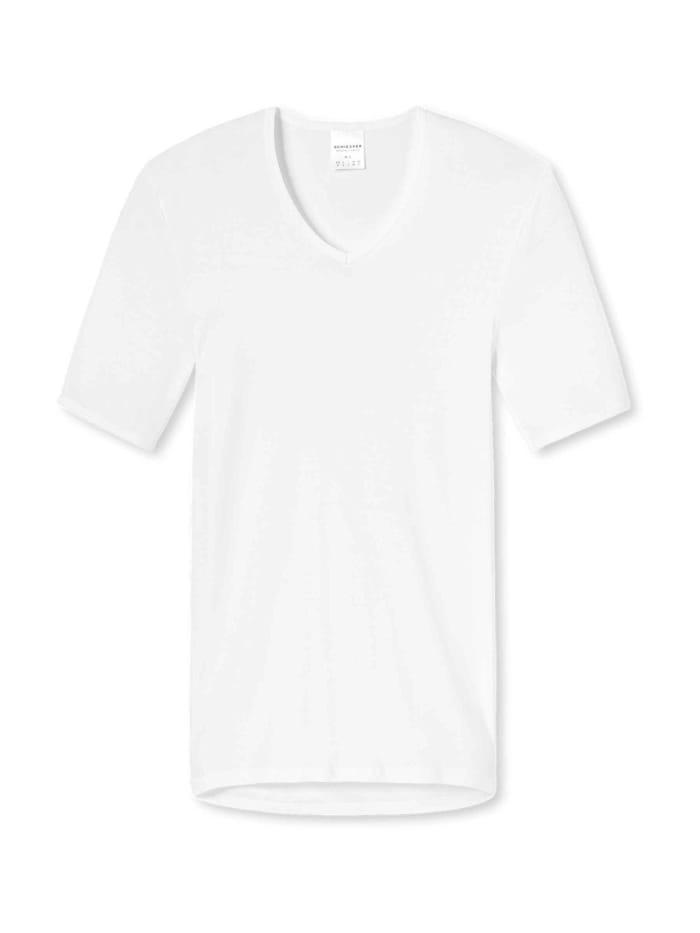 Schiesser Shirt halbarm, weiss