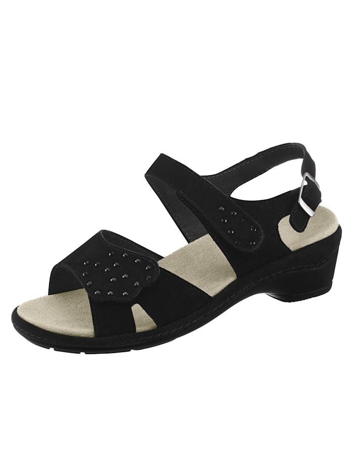 Semler Sandals, Black