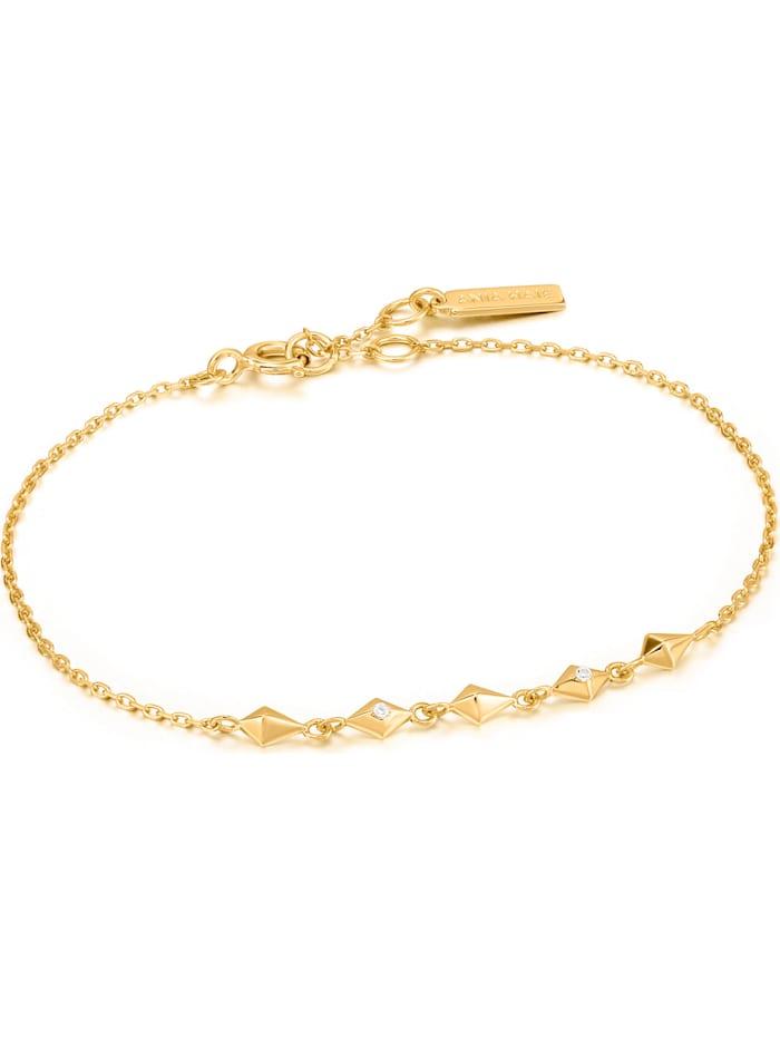 Ania Haie Ania Haie Damen-Armband 925er Silber Zirkonia, gold