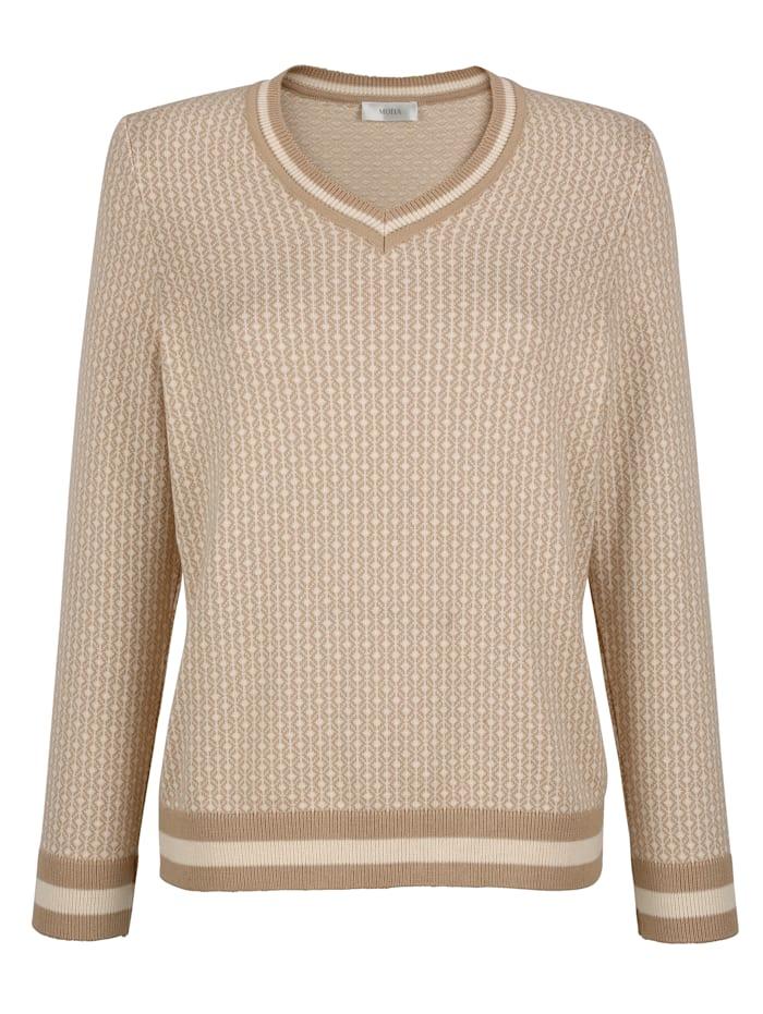 Pullover mit grafischem Jaquard-Muster