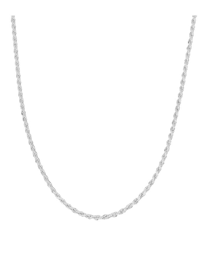 Grazielli Koordketting van echt zilver, Zilverkleur