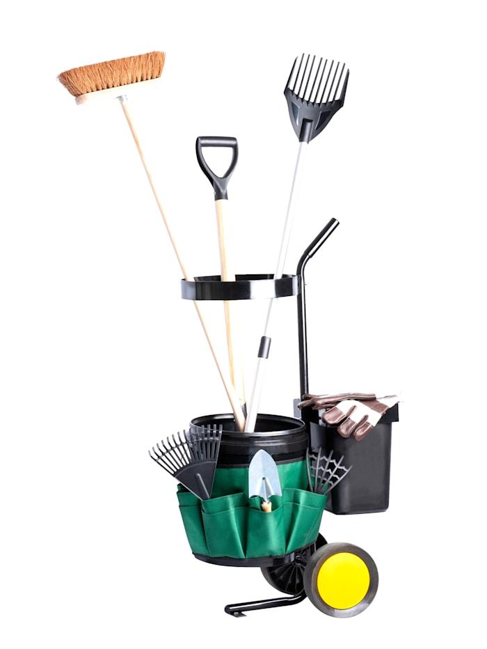 UPP Garten-Werkzeug-Trolley, schwarz