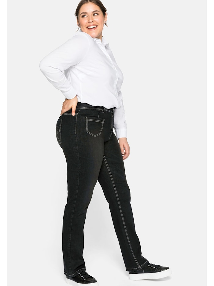 Sheego Sheego Jeans, black Denim