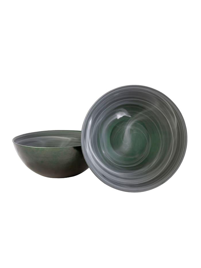 IMPRESSIONEN living Schalen-Set, 2-tlg., grün