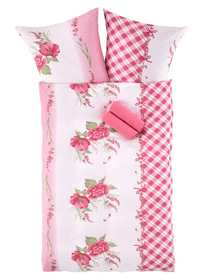 Webschatz Bedlinnen Marlies, Roze