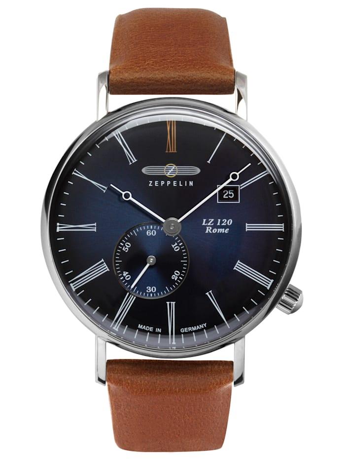 Zeppelin Herren-Armbanduhr LZ120 Rome, Blau