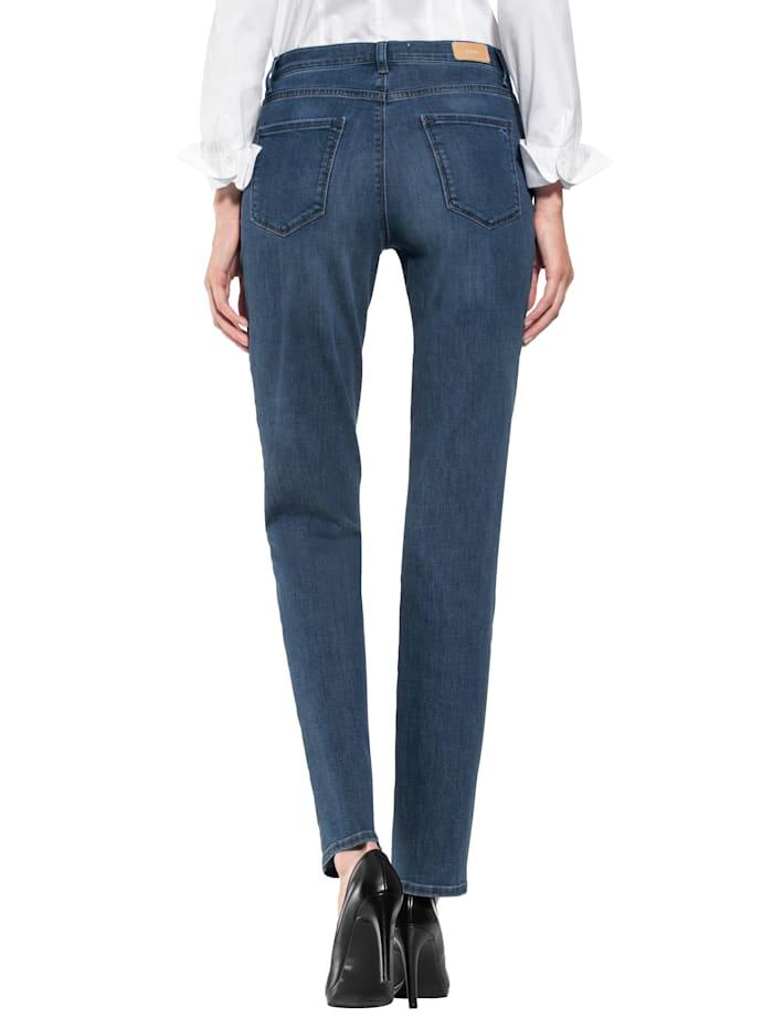 Jeans mit wertigen Swarovski-Elementen auf der Gesäßtasche