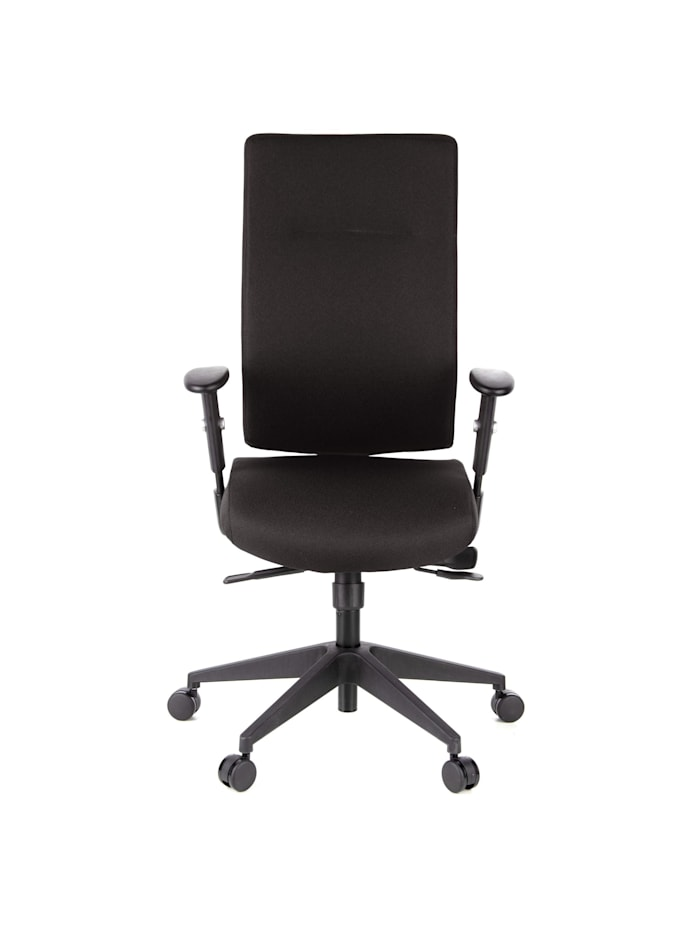 hjh OFFICE Profi Bürostuhl PRO-TEC 300, Schwarz