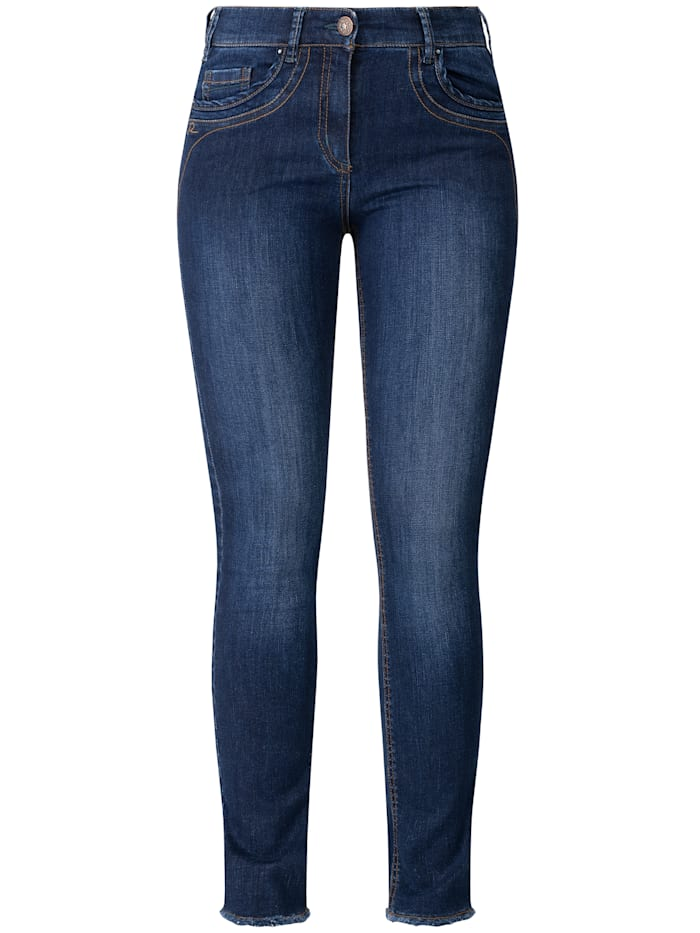 RECOVER Pants Jeans  mit Stickerei, dark blue