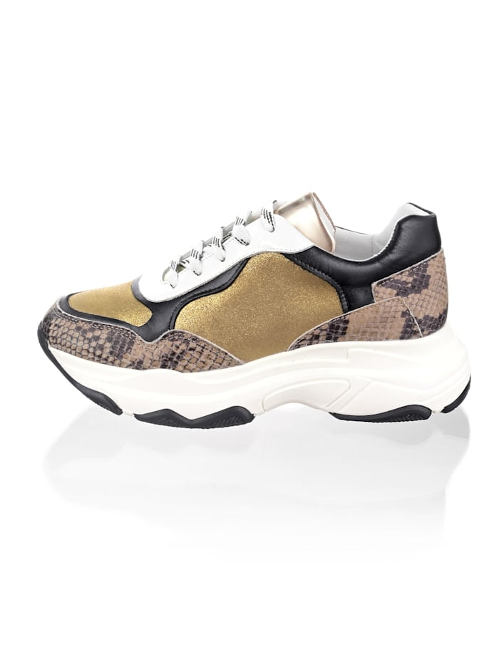 Sneakers à semelle Chunky