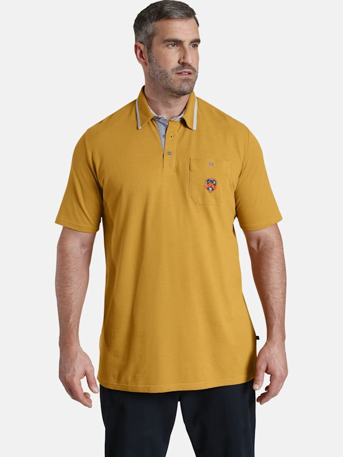 Charles Colby Charles Colby Poloshirt EARL DENNIS, gelb