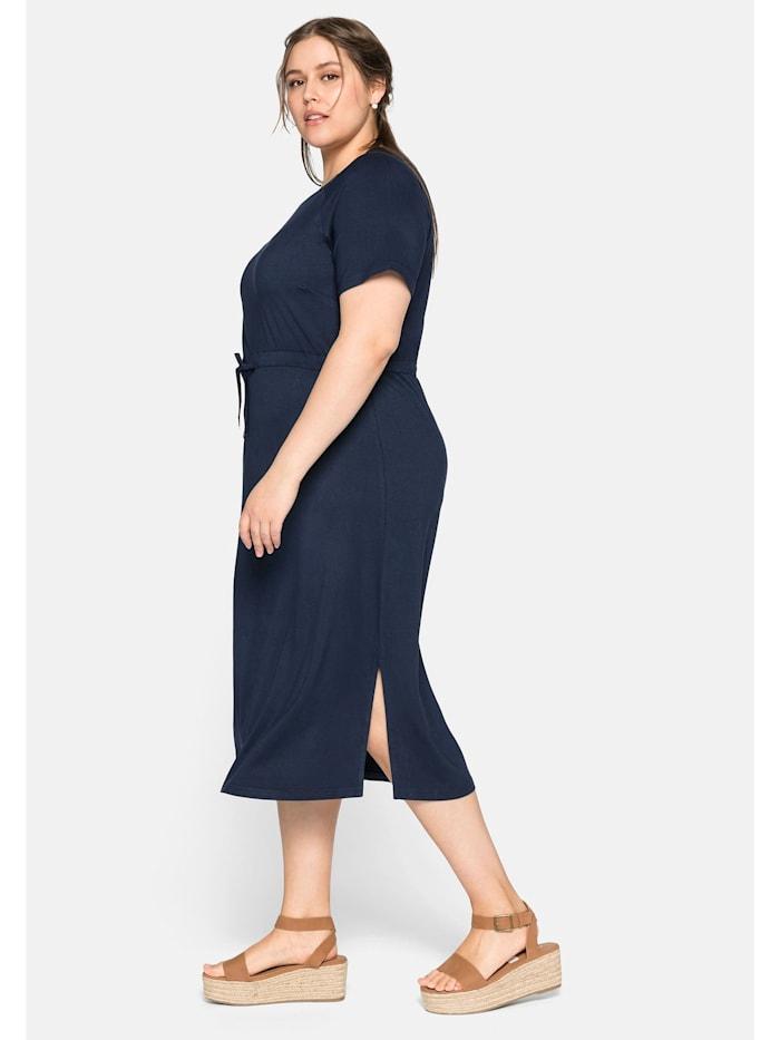 Sheego Kleid mit Tunnelzug in der Taille